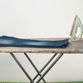 Build your own ironing board swiftly