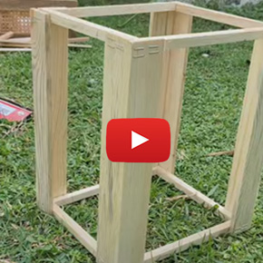 DIY- Farmhouse Lamp
