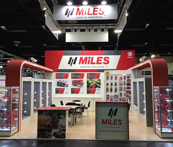 Miles in the spotlight at the International Hardware Fair